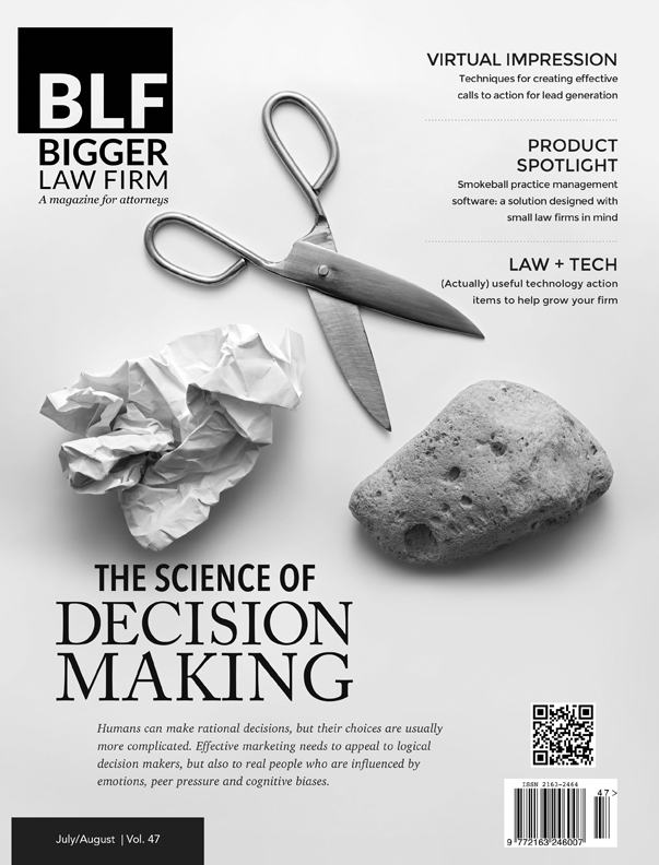 The Science of Decision Making - Bigger Law Firm Magazine