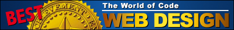 Best WebDesign-TheWorldofCode