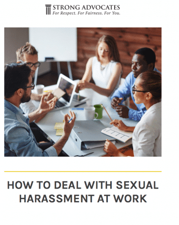 How to Deal with Sexual Harassment at Work
