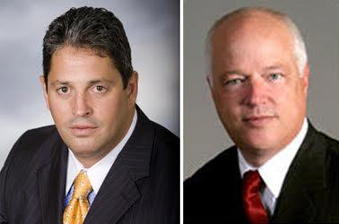 David Brill (L) Robert McKee (R)